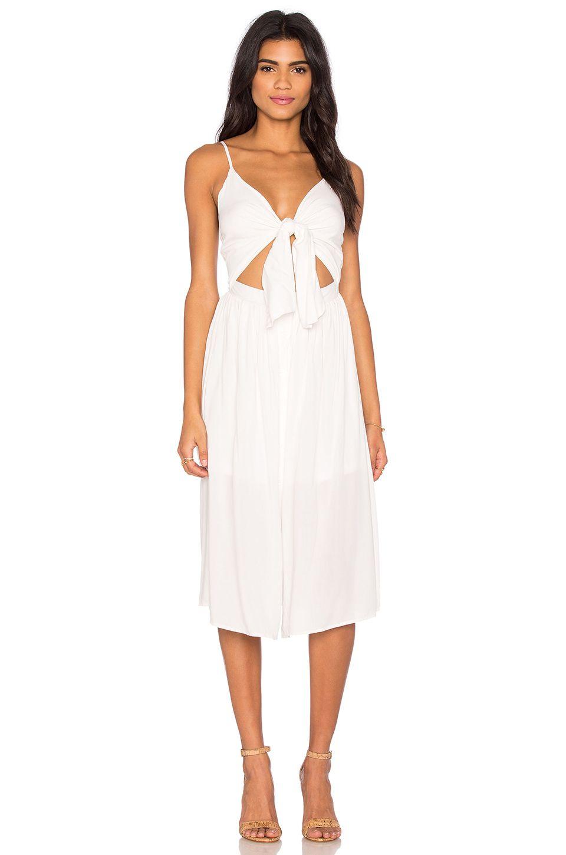 REVERSE Castaway Dress in White  d7d1cc790