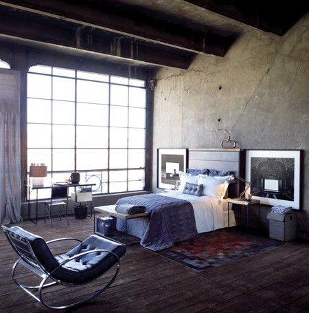 bedroom Arquitectura+ Pinterest Decoración industrial, Decorar