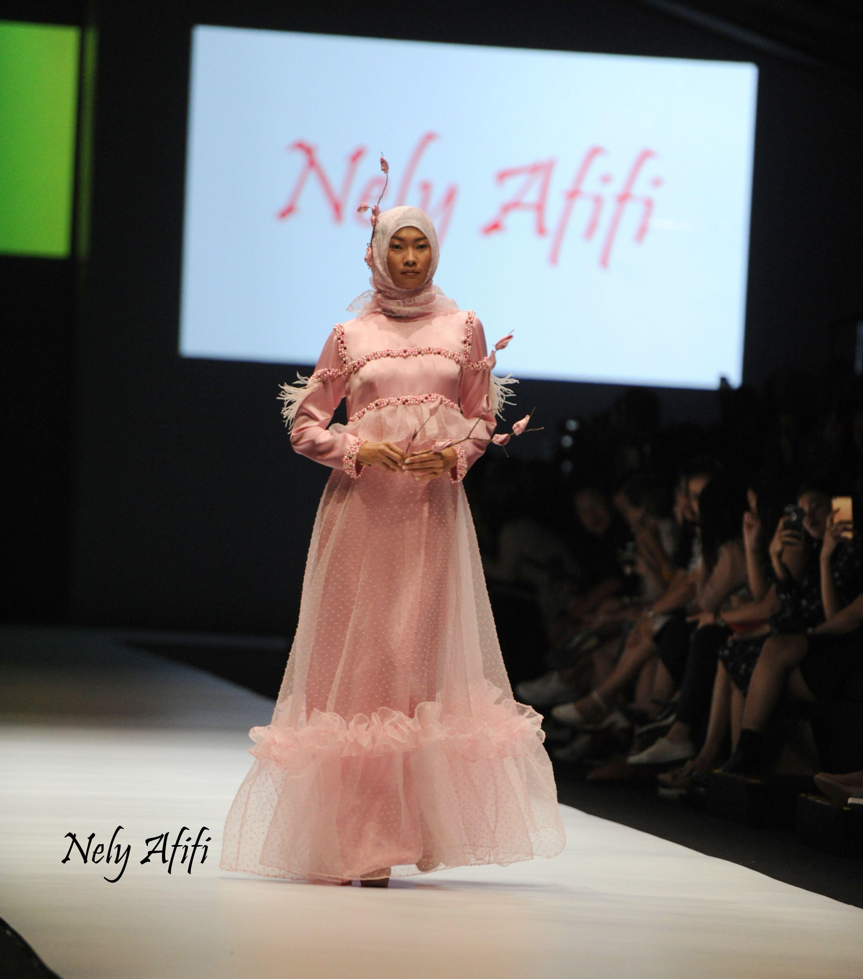 inspirasi gaun pesta muslimah, gaun pengantin muslimah  Gaun