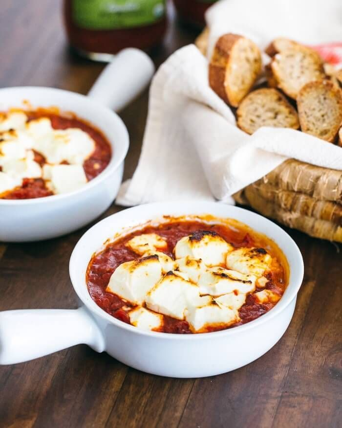 Baked Goat Cheese Appetizer with Fire Roasted Tomatoes images