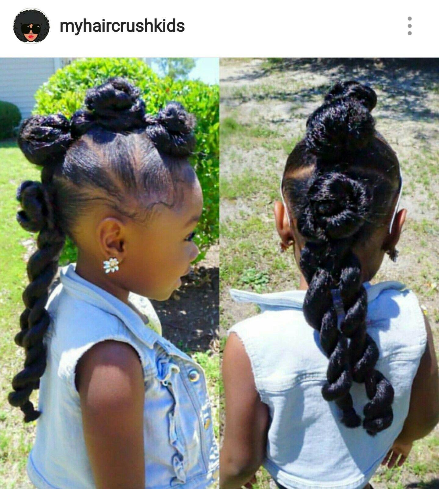 I love this little divas hair myhaircrushkids hair styles