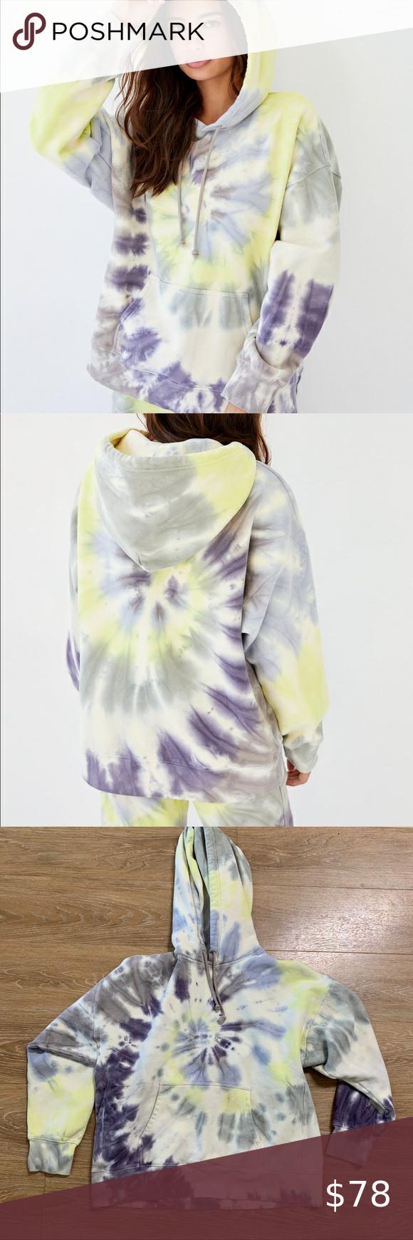 Aritzia Tie Dye Hoodie Tie Dye Hoodie Clothes Design Tie Dye [ 1740 x 580 Pixel ]