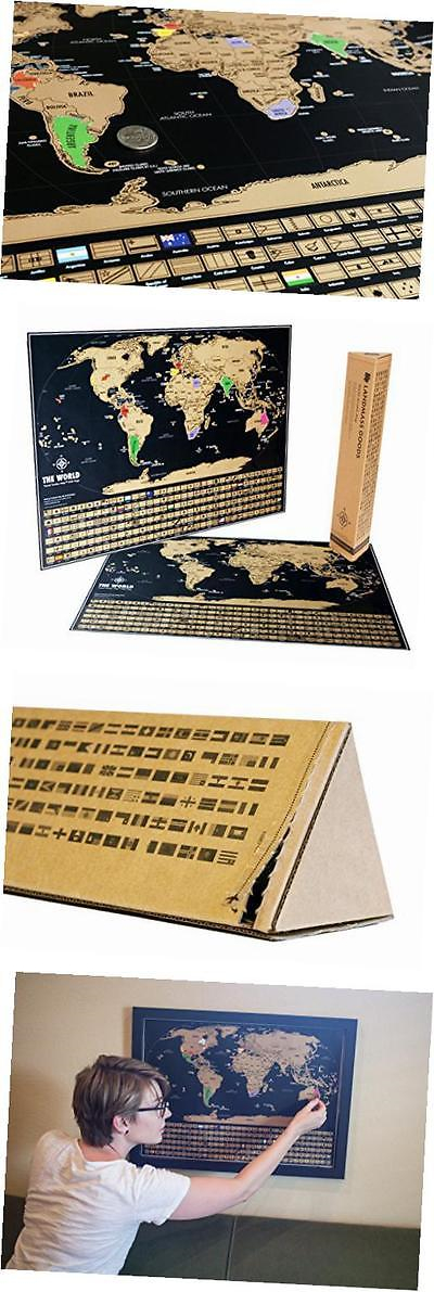 Other travel maps 164807 scratch off world map travel tracker other travel maps 164807 scratch off world map travel tracker map scratch your gumiabroncs Image collections