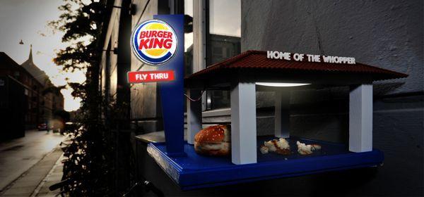 Burger King Bird Feeder