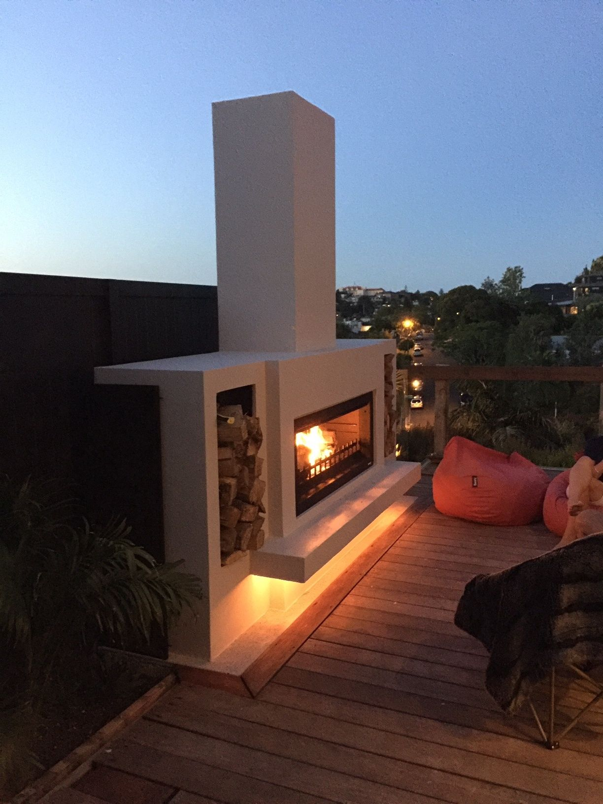 pin by trendz outdoors on modern outdoor fireplaces pinterest