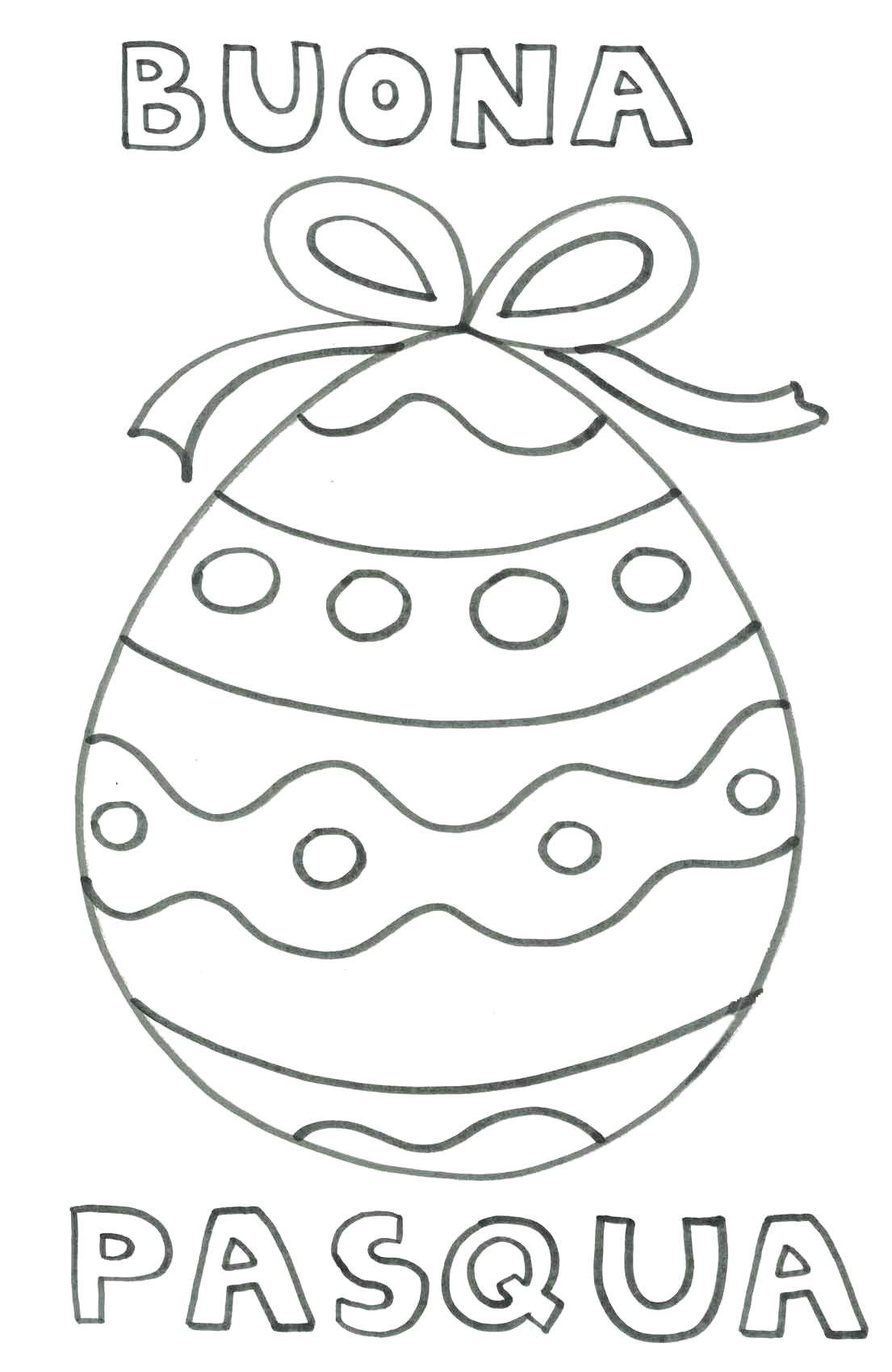 Disegni Da Colorare Di Buona Pasqua.Auguri Di Buona Pasqua Con Uovo La Scuola Di Rosa Con Rosa Da