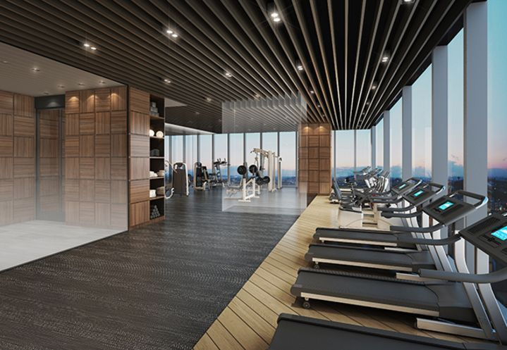 The best apartment in Seoul, with the view of the Han River ... - fitness room - #Apartment #Fitness...
