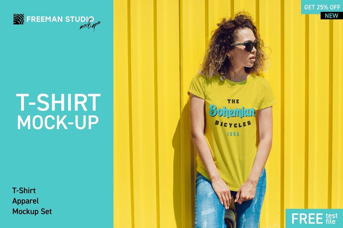 Download T Shirt Mock Up Bundle 2019 Tshirt Mockup Shirt Mockup Clothing Mockup