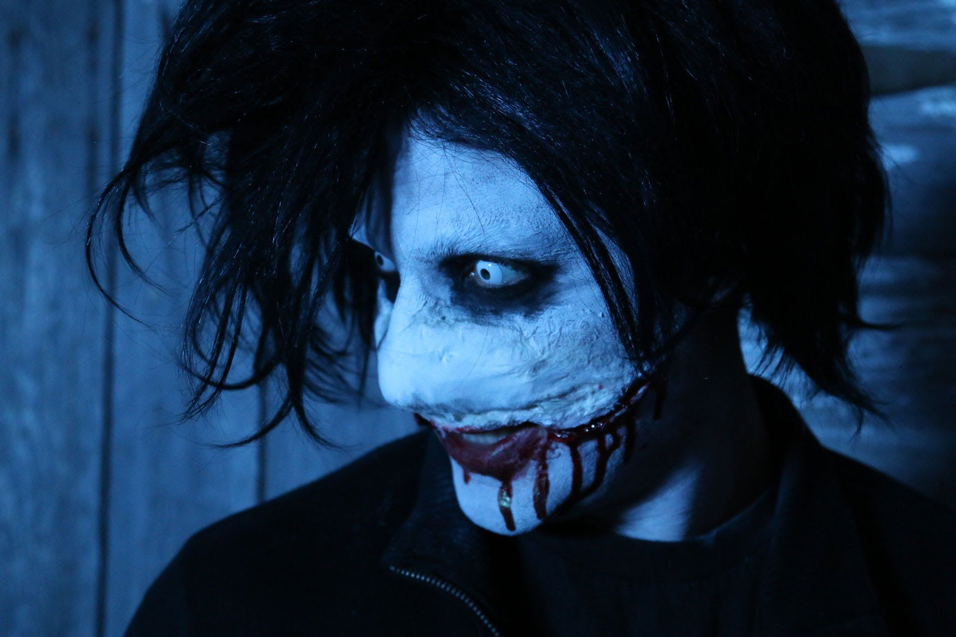 diy jeff the killer halloween makeup tutorial diy makeup