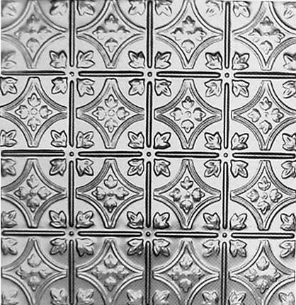 Tin Panel Choose From Several Finishes Tin Ceiling Tiles Faux