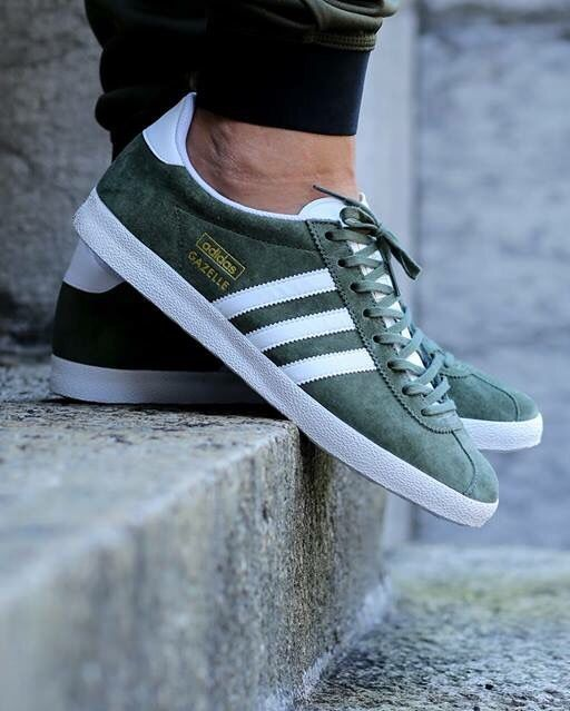 new product b3794 51973 adidas Originals Gazelle OG Base Green - Adidas Shoes for Woman - http