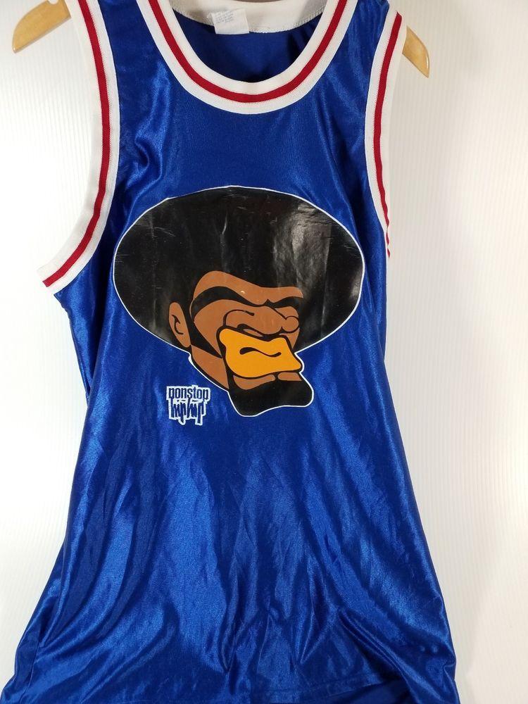 VTG 90's NonStop Hip Hop Basketball Jersey Empire label