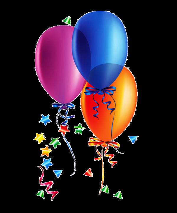 Клипарт картинки с днем рождения на прозрачном фоне
