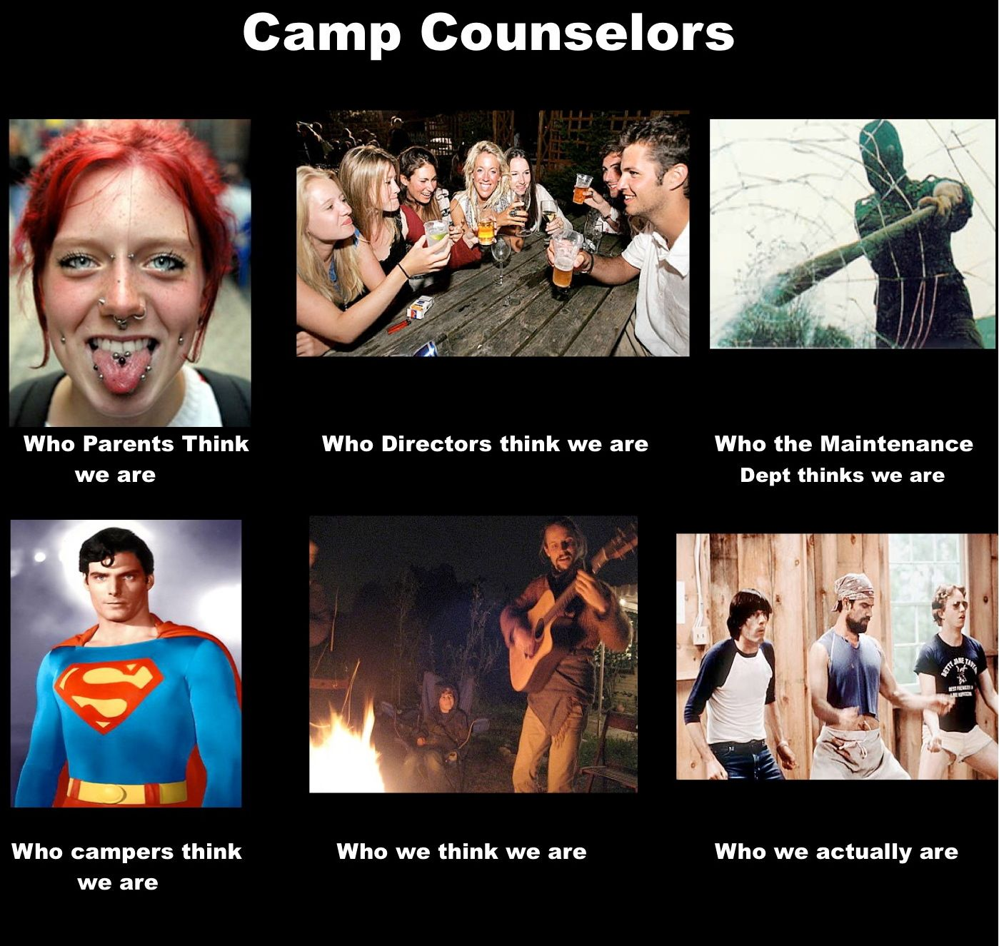 five reasons every teen should go to summer camp awesome dr who people think summer camp counselors are
