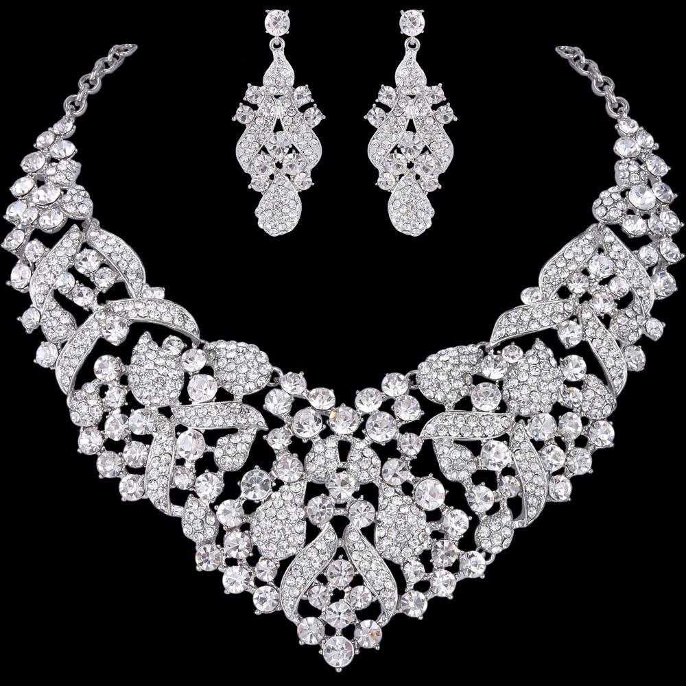 Wonder Silver Wedding Necklace