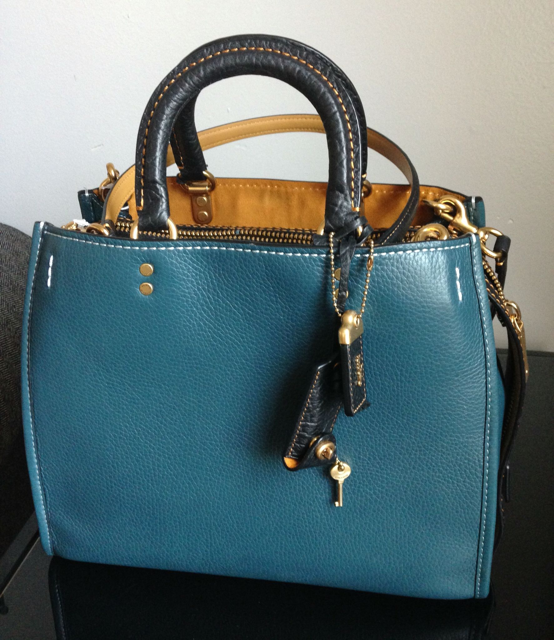 My latest purchase. Coach Rogue in mineral...  2f890d4c91fc6