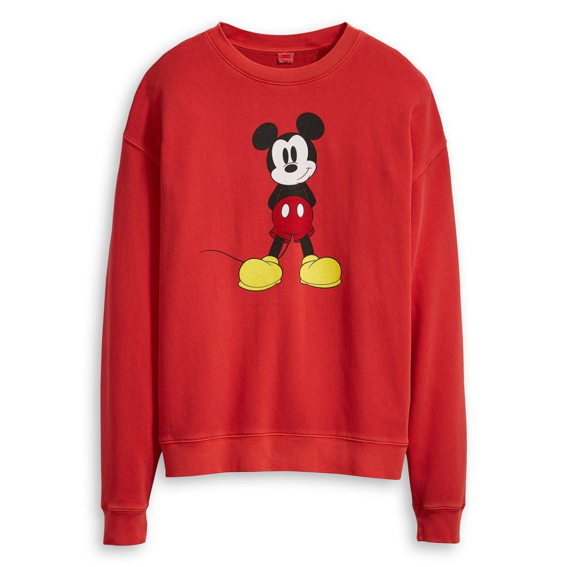 d318eed799771 Mickey Mouse Sweatshirt for Women by Levi's - Red in 2019 | Gifts ...