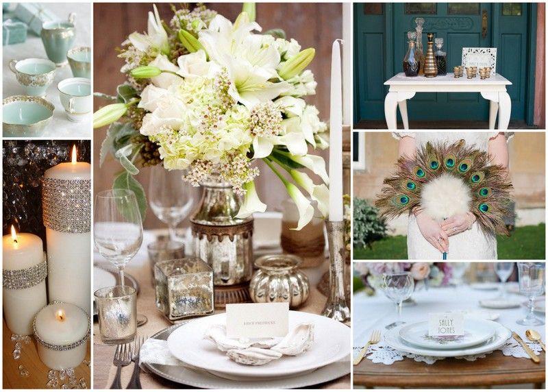 Pleasing Art Deco Wedding Tables 1920S Art Deco Art Deco Wedding Download Free Architecture Designs Pendunizatbritishbridgeorg