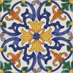 Decorative Picture Tiles Classy Portuguese Tile Great For A Kitchen Or Bathroom  For The Home Decorating Design