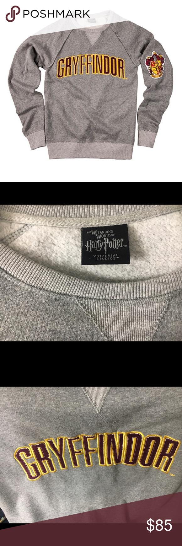 Gryffindor Sweatshirt Sweatshirts How To Wear Shirt Sweater Design [ 1740 x 580 Pixel ]