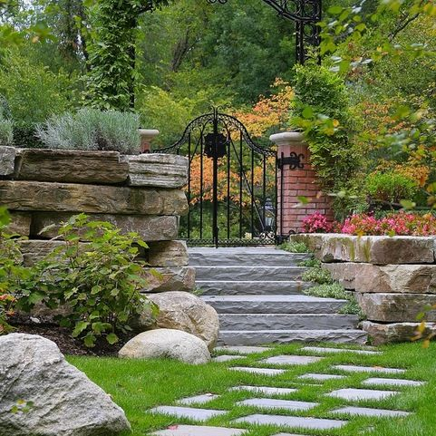 Retaining Wall Block Home Design Ideas, Pictures, Remodel and Decor