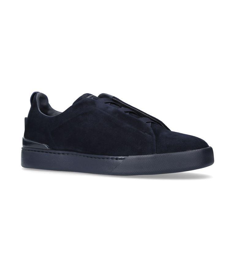 ERMENEGILDO ZEGNA XXX Elastic Sneakers. #ermenegildozegna #shoes #. Skate  StyleSneakersNavyMenSkater ...
