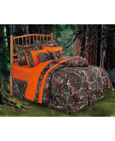 Oak Camo Queen Size Bedding Set Camo Comforter Camo Bedroom Camo Bedding