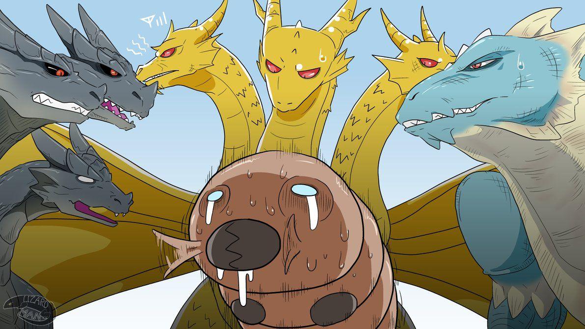 Lost Child Mothra By Nesise Kaiju Monsters Godzilla Comics