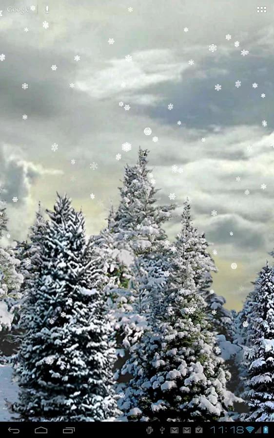 Snowfall Live Wallpaper V2 26 Apklife Android Apps Games Themes Free Live Wallpapers Live Wallpapers Snowfall Wallpaper