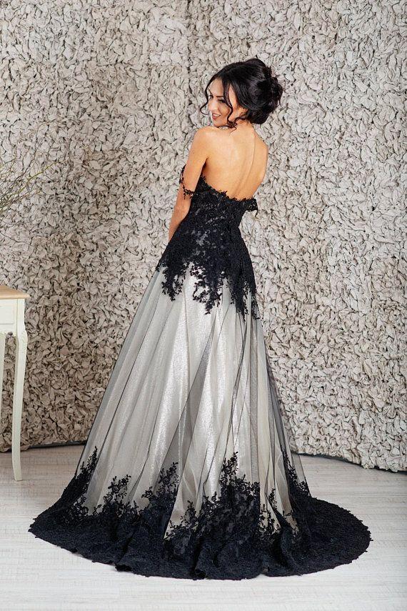Black wedding dress 18ec3acd3f79