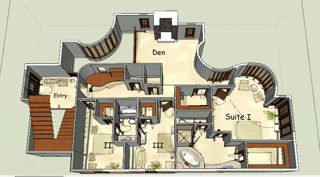 fantasy homes floor plans house design plans