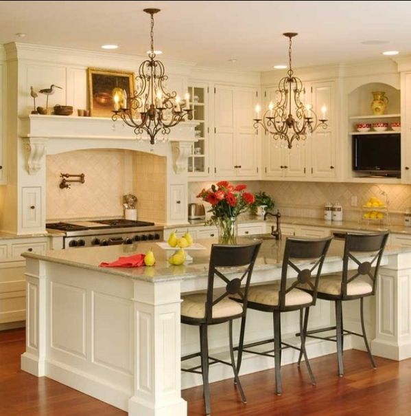 Small Kitchen Island Ideas With Seating For Extra Dining E Clic Interior Design Idea In Fancy Traditional Chandeliers