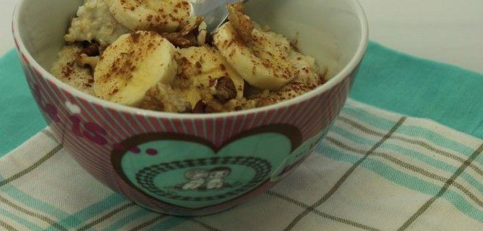 Ontbijt: quinoa vlokken