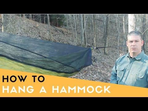 today i go over how i set up my hammock for camping  i have a warbon  outdoors blackbird xlc kelty noah tarp and an arrowhead equipment underquilt  how to set up a hammock   warbon  outdoors blackbird xlc      rh   pinterest