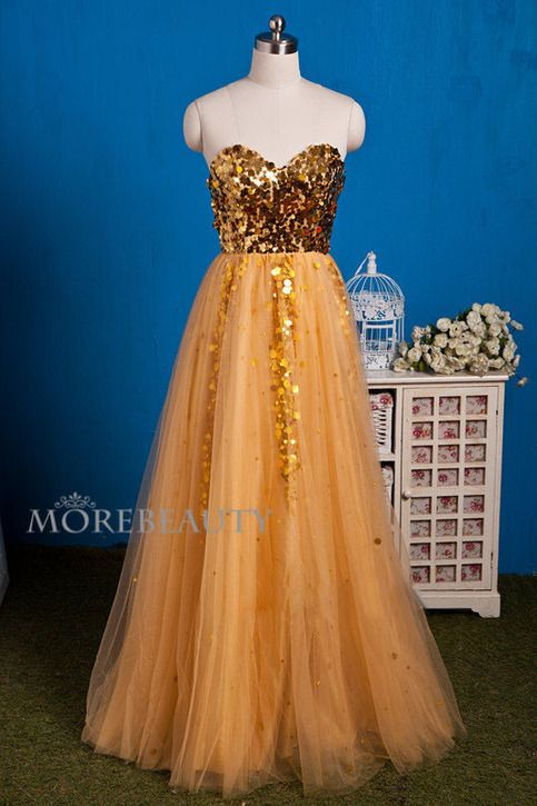 """11241 Charming Prom Dress,Sequined Tulle Prom Dress How to Order: How to choose color after purchase Step 1: click on """"Add to Cart"""" Step 2: choose check out Step 3: fill your Standard size or Custom size,to make perfect fit,we suggest fill your custom size,please read """"How to Measure""""..."""
