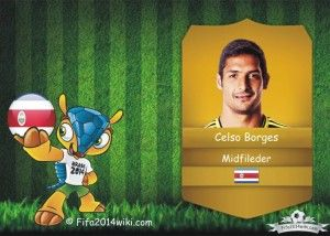 Celso Borges - Costa Rica Player - FIFA 2014