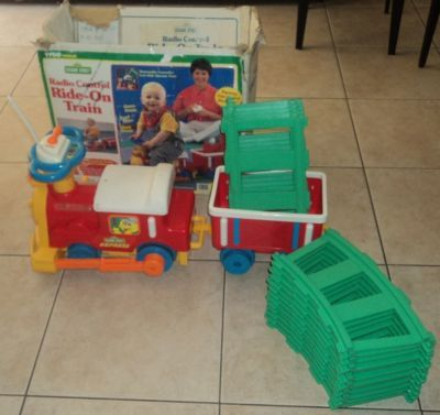 Sesame Street Express Ride On Train By Tyco Ride On