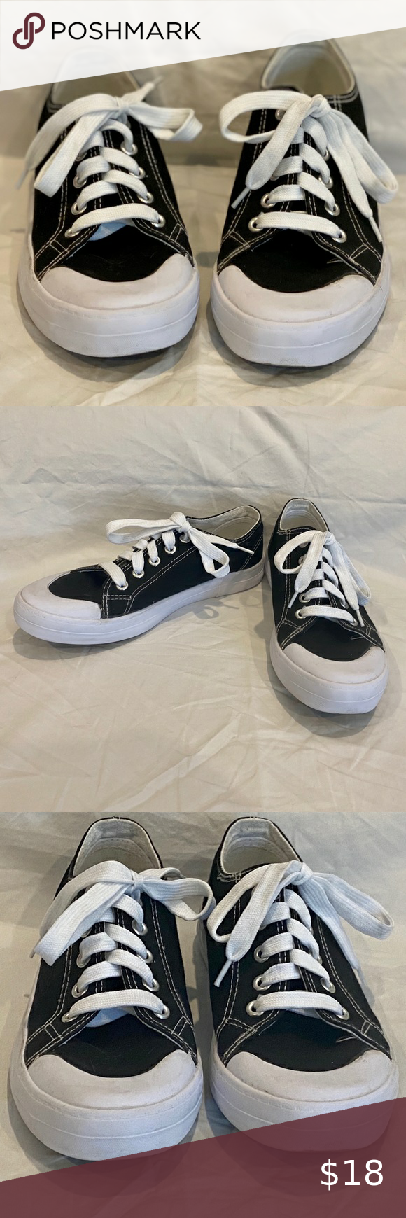 Youth Basic Editions Canvas Sneakers in