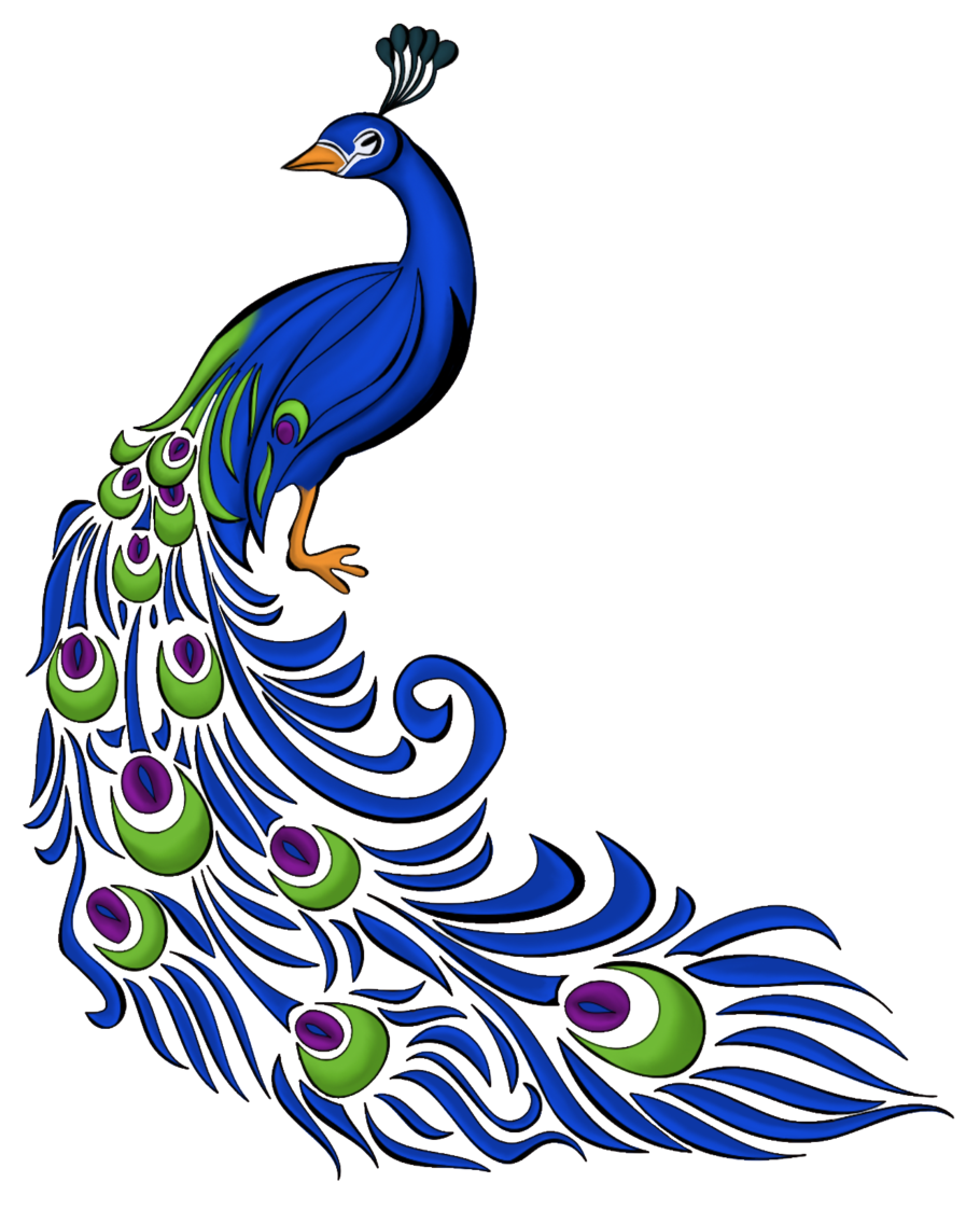 Peacock Peacock Drawing Peacock Painting Peacock Drawing With Colour