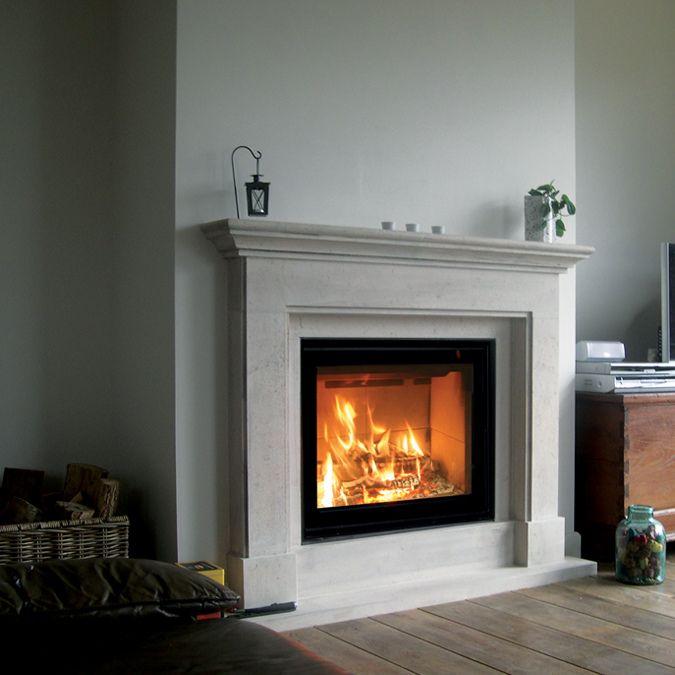 pingl par cath brissonnet sur coin cheminee en 2019 pinterest moderniser une chemin e. Black Bedroom Furniture Sets. Home Design Ideas