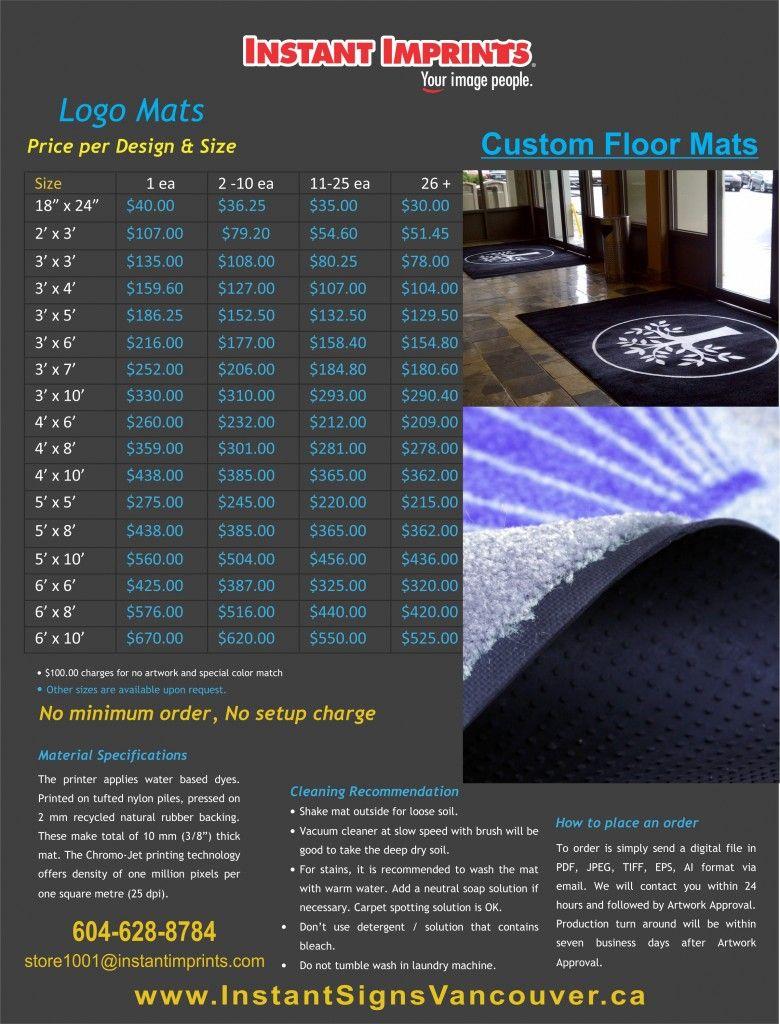 Customize Your Floor Mats Door