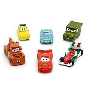 Disney Pixar Cars Bath Toy From The Race