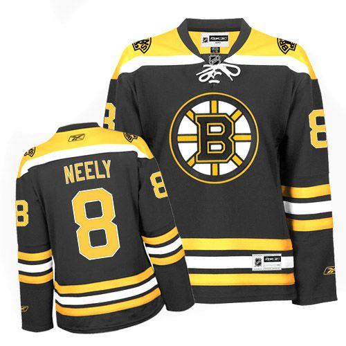 020e398a #8 Black Cam Neely Boston Bruins Jersey - Authentic Reebok NHL Women's Home  Reebok020209