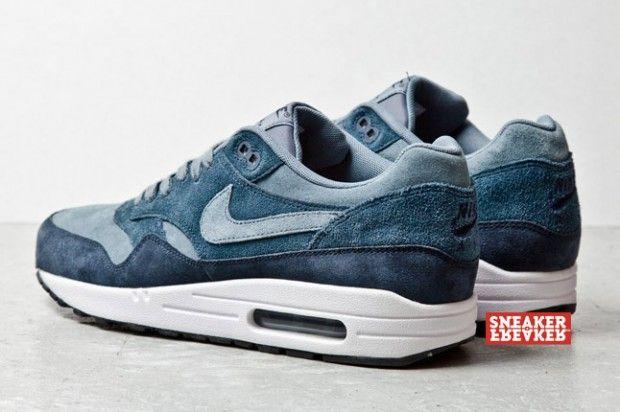 """Nike Air Max 1 """"Blue Suede"""" (met afbeeldingen)   Schoenen"""