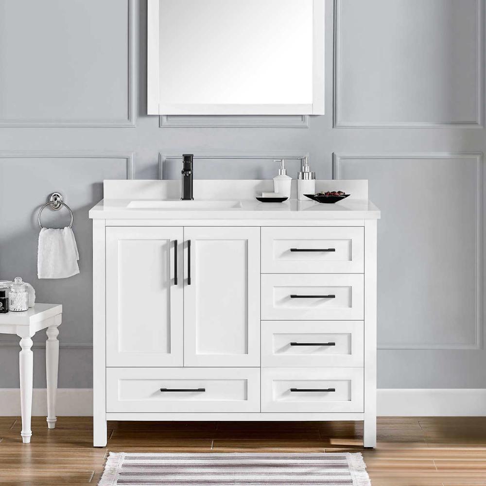 $12.12 12-inch vanity COSTCO  Vanity, 12 inch vanity, Solid wood