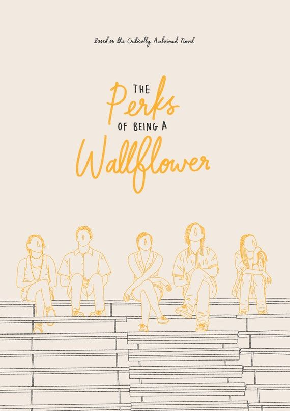 The Perks of Being a Wallflower A4 Movie Poster Print