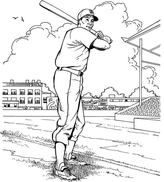 giants coloring pages baseball bat - photo#8