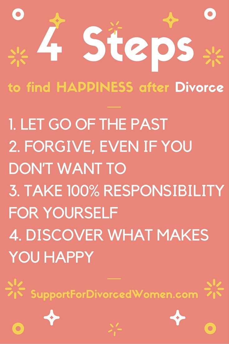 Is there happiness after divorce