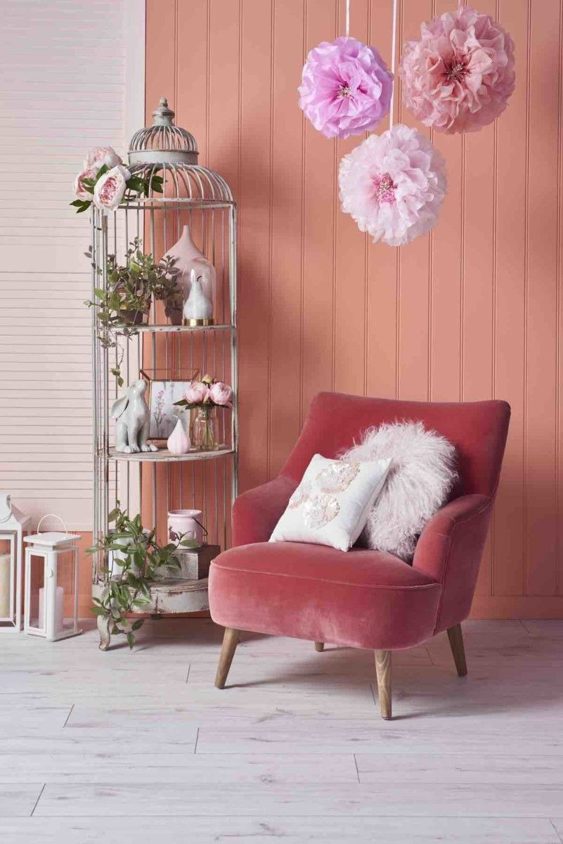 Discover how to add the blush trend your home with these expert tips from interior stylist maxine brady as she showcases her styling work good homes also magazine diy painting rh pinterest