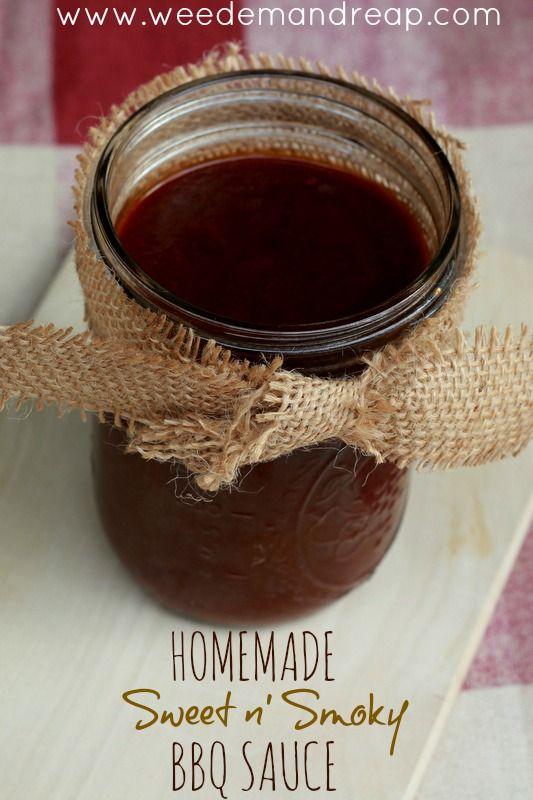 Recipe: Homemade Sweet n' Smoky BBQ Sauce - Weed'em & Reap